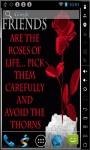 Roses Of Life Live Wallpaper screenshot 2/2