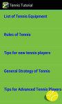 Tennis Tutorial screenshot 3/3