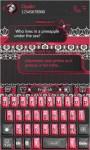 Gothic Lolita Keyboard Theme screenshot 4/5