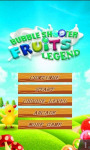 Bubble Fruits Legend Shooter screenshot 1/3