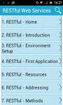 RESTful Web Services screenshot 1/3