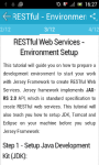 RESTful Web Services screenshot 2/3