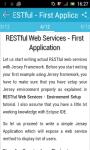 RESTful Web Services screenshot 3/3