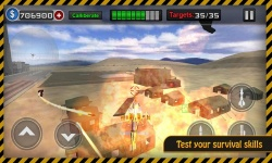 Gunship Heli Warfare - Battle screenshot 3/6