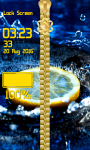Water Zipper Lock Screen Free screenshot 6/6