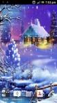 New year Snow Live wallpaper HD screenshot 1/4