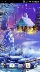 New year Snow Live wallpaper HD screenshot 2/4