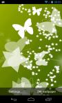 Butterflies Live Wallpaper App screenshot 1/5