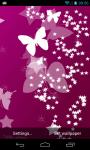 Butterflies Live Wallpaper App screenshot 4/5