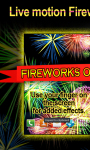 Fireworks On Your Phone LWP free screenshot 1/3