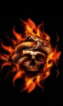 Fire Skull Snake Live Wallpaper screenshot 3/3