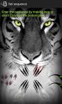 Screen lock Sequence Tiger Custom screenshot 4/6