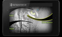 Screen lock Sequence Tiger Custom screenshot 6/6