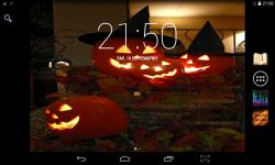 Happy Live Halloween Wallpaper screenshot 1/4