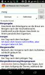 German Dictionary - Deutsch Wörterbuch screenshot 2/3