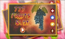777 Jackpot Fruit slots screenshot 1/6