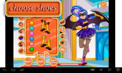 Batgirl Dress Up Game screenshot 3/4