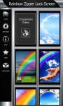 Best Rainbow Zipper Lock Screen screenshot 4/6