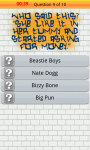 Hip Hop Music Quiz for Android screenshot 3/4