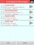 SMS Scheduler Lite screenshot 5/6