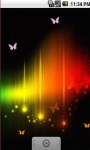 Colorful Butterfly Abstract Live Wallpaper screenshot 3/5