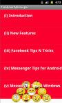 Facebook Messenger Tips N Tricks screenshot 3/4