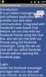 Facebook Messenger Tips N Tricks screenshot 4/4