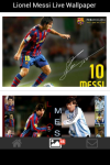 Lionel Messi Live Wallpaper Android screenshot 3/5