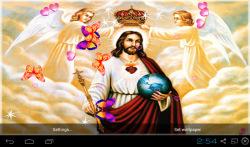 3D Jesus Live Wallpaper Free screenshot 1/4