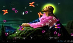 3D Jesus Live Wallpaper Free screenshot 2/4
