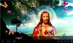 3D Jesus Live Wallpaper Free screenshot 3/4