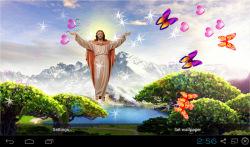 3D Jesus Live Wallpaper Free screenshot 4/4