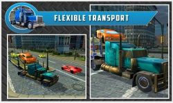 Car Transport Trailer Truck 4d screenshot 2/5