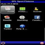 EPL Sport Fixtures screenshot 1/4