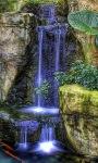 Blue Waterfall Live Wallpape screenshot 2/3
