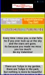 Valentine Day SMS 2014 screenshot 3/3