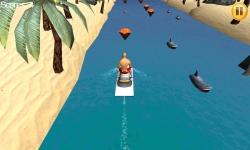 Water Bike River Race 3D screenshot 1/1