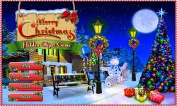 Free Hidden Object Game - Merry Christmas screenshot 1/4