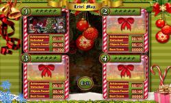 Free Hidden Object Game - Merry Christmas screenshot 2/4