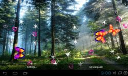 3D Forest Live Wallpaper screenshot 3/5