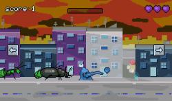 Evil Alien vs World screenshot 4/5