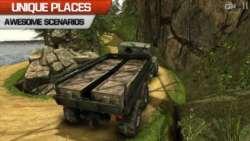Truck Driver 3D Offroad Bridge screenshot 1/3