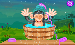 Baby Chimpanzee Salon screenshot 3/5