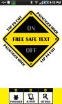 Free Safe Text screenshot 3/3