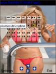 Bikini Sexy Calendar 2015 screenshot 4/4