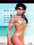 Bikini Sexy Calendar 2015 screenshot 3/4
