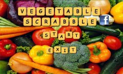 Vegetables Scrabble screenshot 1/5