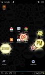 Glow Clock Live Wallpaper FREE screenshot 1/3