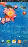 3D Goldfish Pond Wallpaper screenshot 2/4