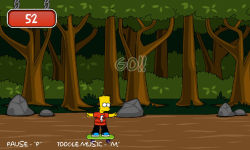 Bart Simpson Skateboarding screenshot 2/5